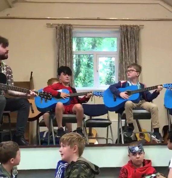 Guitar and Ukulele performance